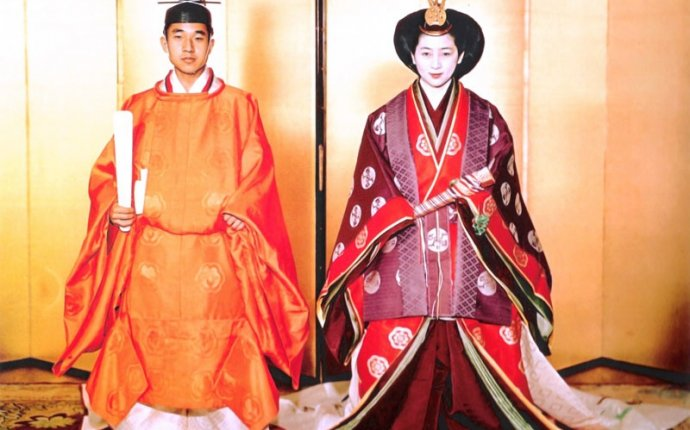 Traditional marriage in japan