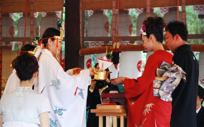 Marriage traditions in Japanese